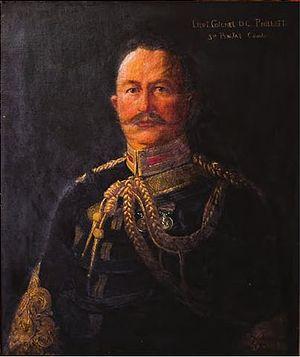 Douglas Craven Phillott - Portrait in Felsted School c. 1906