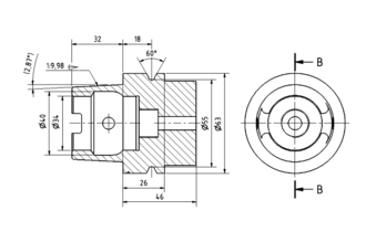 Production drawing - Dimensioning technique