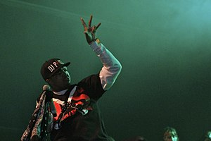 DJ Paul - Image: DJ Paul of Three 6 Máfia (37670774406)