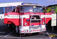 DOD Řepy, hasičské vozidlo SDH DP.jpg