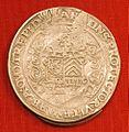 Daalder met het portret van Oswald II, 1511-1546, Hagemunten, De munt van 's-Heerenberg (front).jpg