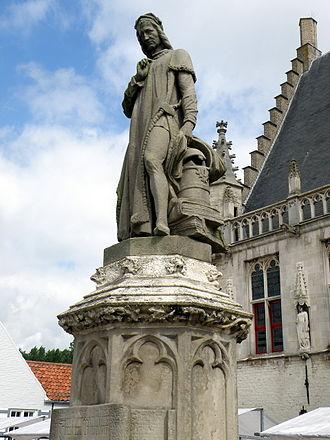 Jacob van Maerlant - Image: Damme Jacob van Maerlant