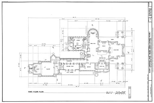Dana House plans Springfield, IL