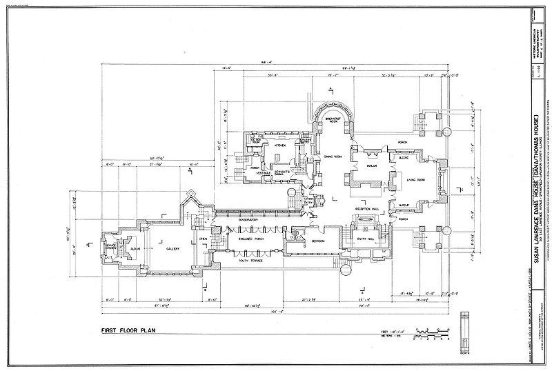 File:Dana House plans Springfield, IL.jpg