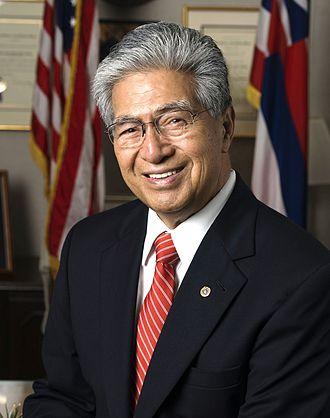 2000 United States Senate election in Hawaii - Image: Daniel Akaka official photo