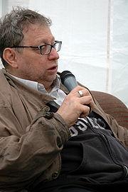 Danny Schechter during a radio-interview, June 2007, Ilmenau, Germany.