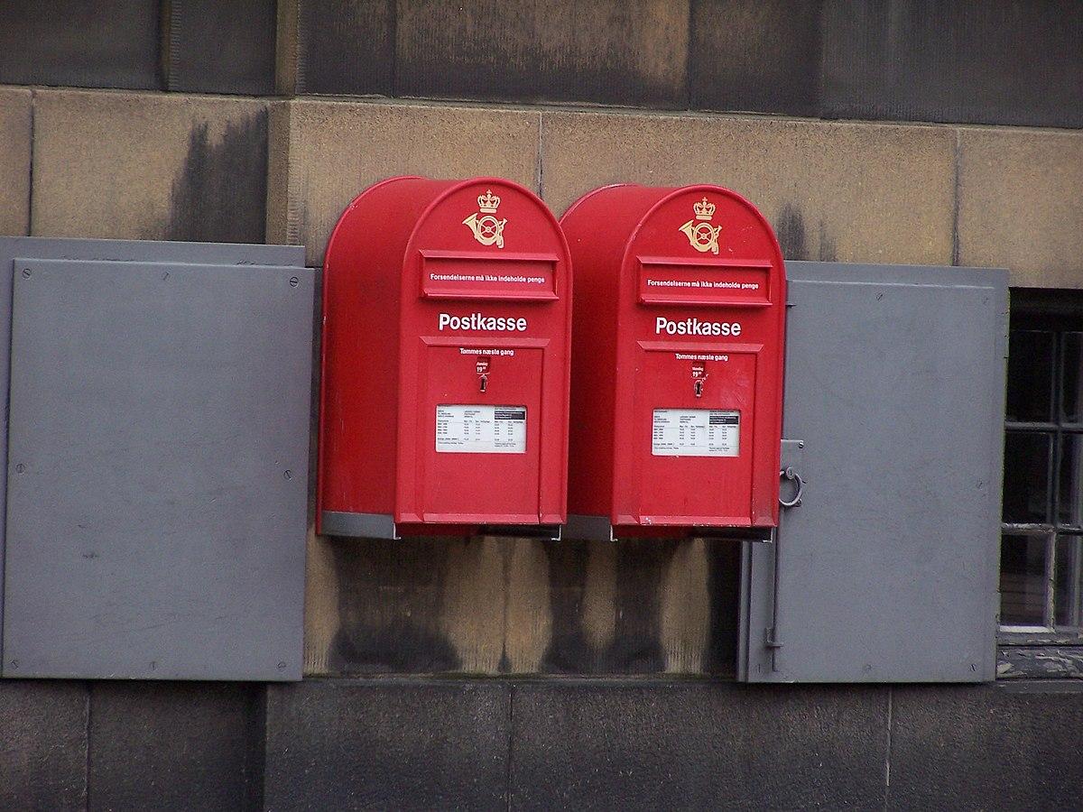 Postkasse (offentlig) - Wikipedia, den frie encyklopædi