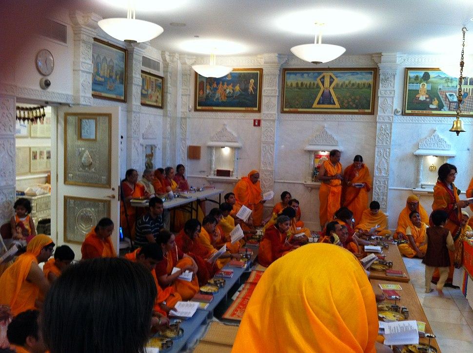 Das Lakshana (Paryusana) celebrations, New York City Jain temple 2