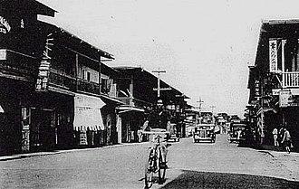 Davao City - Japan-town, Davao City (circa 1930s)