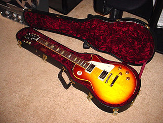 Les Paul - Gibson '58 Reissue Les Paul guitar (2005)