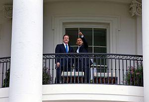English: President of the United States Barack...