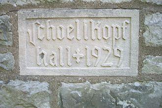 Deveaux School Historic District - Image: De Veaux School Historic District Shoellkopf Hall Year Built
