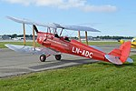 De Havilland DH82A Tiger Moth 'LN-ADC 9' (42515548042).jpg