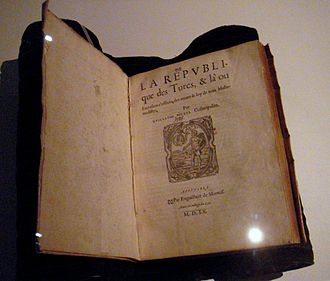 Guillaume Postel - De la République des Turcs, Guillaume Postel, Poitiers, 1560