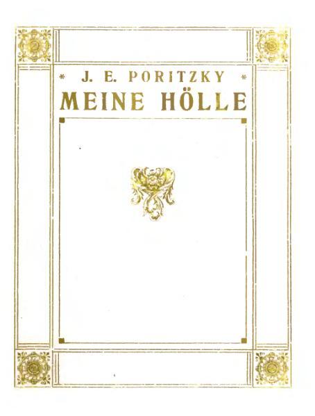 File:De Meine Hölle Poritzky.djvu