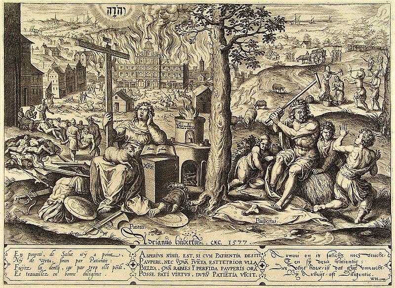 File:De Spaanse Furie - De verwoesting van Antwerpen 1576 (Hans Collaert, 1577).jpg