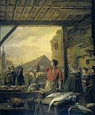 Fish Market in Antwerp