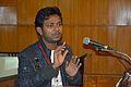 Debdip Dhibar - Presentation - Bangla Wikiabhidhan Prakalpe Adivasi Bhasha Sangjojaner Prayas O Prajukti Samasya Theke Sama-Asha - Bengali Wikipedia 10th Anniversary Celebration - Jadavpur University - Kolkata 2015-01-10 3203.JPG