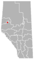 Debolt, Alberta Location.png