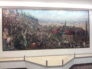 Hebrew University of Jerusalem - Painting of the inauguration ceremony, 1925