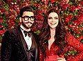 Deepika Padukone and Ranveer Singh reception.jpg