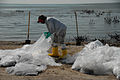 Deepwater Horizon oil spill beach cleanup.jpg