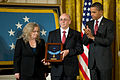 Defense.gov News Photo 101006-A-0193C-018 - President Barack Obama presents the Medal of Honor posthumously to the parents of U.S. Army Staff Sgt. Robert J. Miller father Phil and mother.jpg