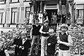 Defile Soestdijk 78 de Prinsjes Floris, Carlos, Maurits Johan Friso , Pieter Ch, Bestanddeelnr 929-6958.jpg