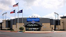 Dell Diamond Southwest Entrance 2017.jpg