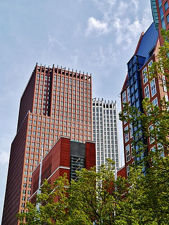 Ministry of Justice and Security - Image: Den Haag Skyscrapers 5