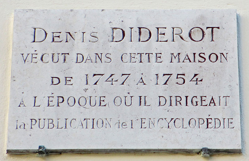File:Denis Diderot plaque - 3 rue de lEstrapade, Paris 5.jpg