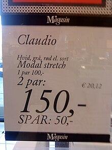 95 euro in dkk