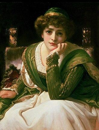 Desdemona - Desdemona by Frederic Leighton