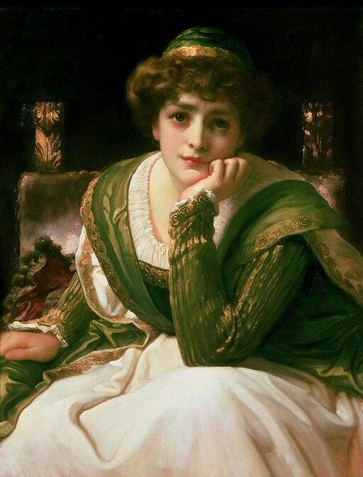 Desdemona (Othello) by Frederic Leighton
