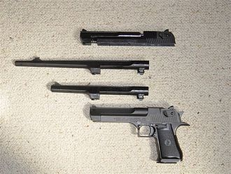 IMI Desert Eagle - Interchangeable barrels for a Desert Eagle Mark I.