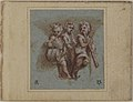 Design for a Pendentive- Youthful Musicians with Wind Instruments and a Drum MET 1977.249b.jpg