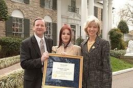 4e2ce72967fba4 Designation of Graceland mansion as a National Historic Landmark in 2006