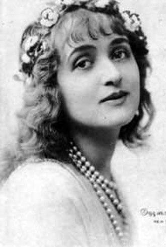 Gaby Deslys - Still of Desyls circa 1915