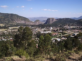 Dessie Town in Amhara, Ethiopia