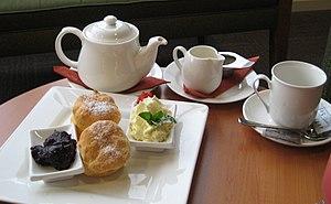 Cream tea - Image: Devonshire tea