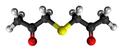 Diacetonyl sulfide3D.png
