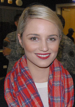 I'm Not the Only One - Dianna Agron plays the part of a scorned bride in the music video.
