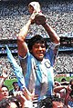 Diego Maradona Argentina 1986 cup Azteca Stadium.jpg