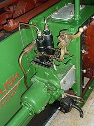Diesel fuel injection pumps, Brush diesel, Snibston.jpg