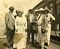 Digby Bell at the train station, c. 1900s (3216260212).jpg