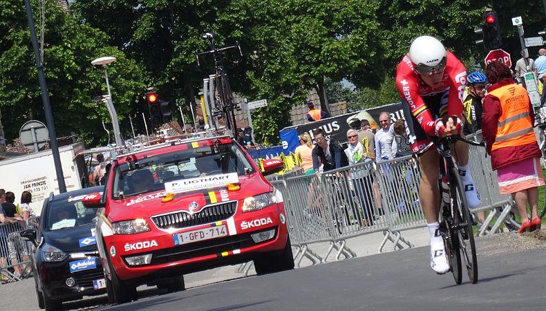 Diksmuide - Ronde van België, etappe 3, individuele tijdrit, 30 mei 2014 (B097).JPG