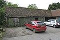 Dilapidated shed behind F. Moorman's shop in Ringwood Road, Burley - geograph.org.uk - 177538.jpg