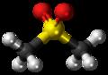 Dimethyl sulfone molecule ball.png