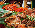 Dinagyang 2009 grilled meat on display.jpg