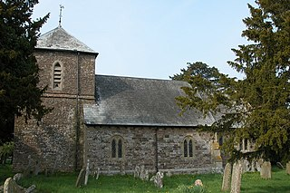 Dinedor village in United Kingdom